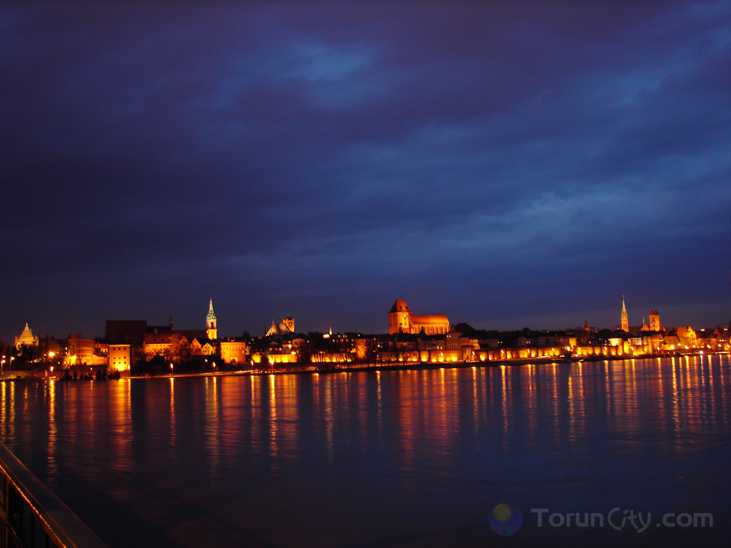 Toruń i fala powodzio...